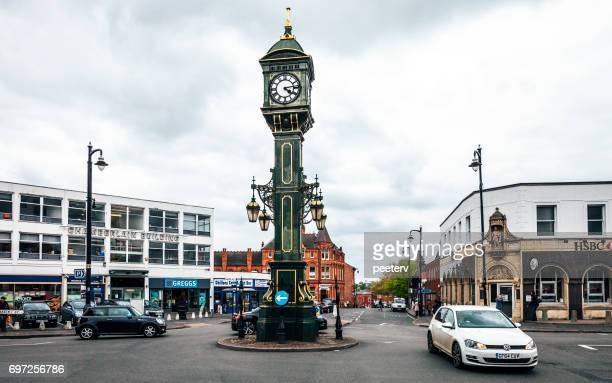 Chamberlain Clock in Jewellery Quarter - Birmingham, UK