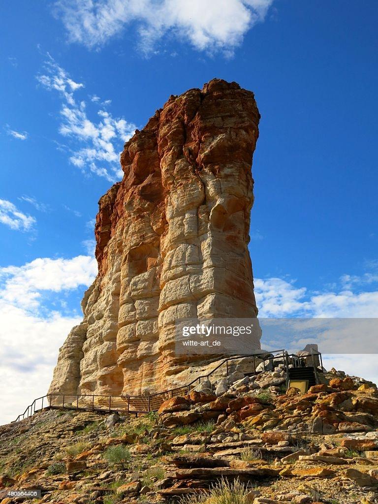 Chambers Pillar, Northern Territory, Australia : Stock Photo