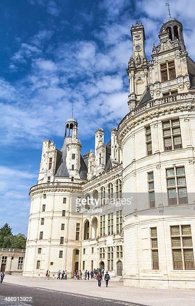 chambord castle - loire - france - pjphoto69 bildbanksfoton och bilder