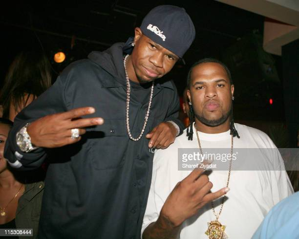 Chamillionare and Slim Thug during The WhiteFlashcom Dripping in Diamonds AfterParty with Missy Elliot and Ciara at Stereo Nightclub in New York City...