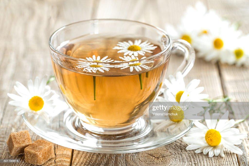 Chamomile tea : Stock Photo