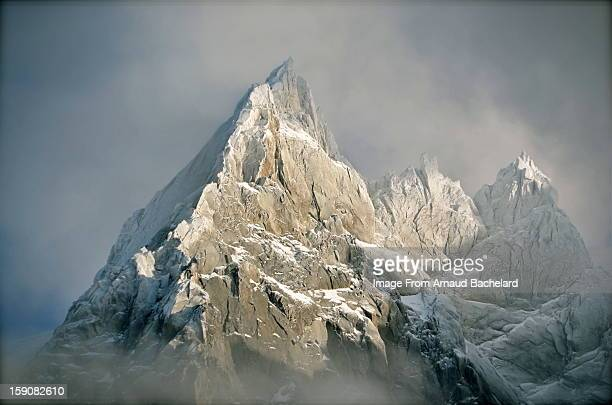 chamonix mont blanc mountains - mont blanc massif stock photos and pictures