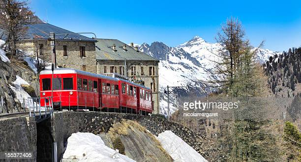 Chamonix - Montenvers train in french Alps
