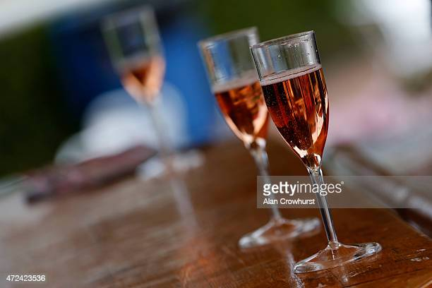 Champagne at Chester racecourse on May 07 2015 in Chester England