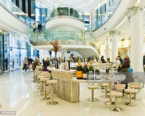 Champagne Bar at Westfield Shopping, London