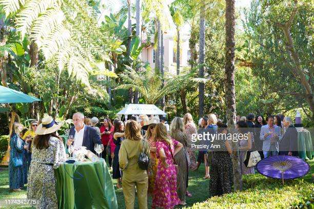 Champagne Bollinger atmosphere at the Champagne Bollinger and Asprey London host high tea & champagne soirée with Kelly Lynch & Carlota Espinosa at...