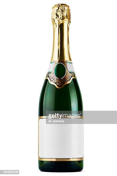 champagne bottle - champagne stock pictures, royalty-free photos & images
