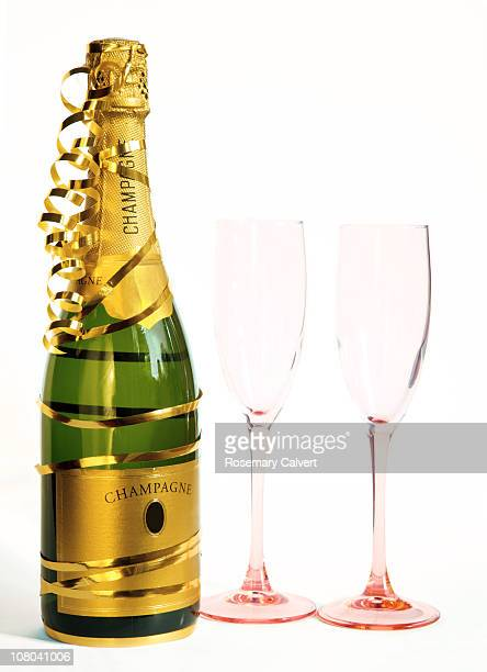 Champagne celebration for two.