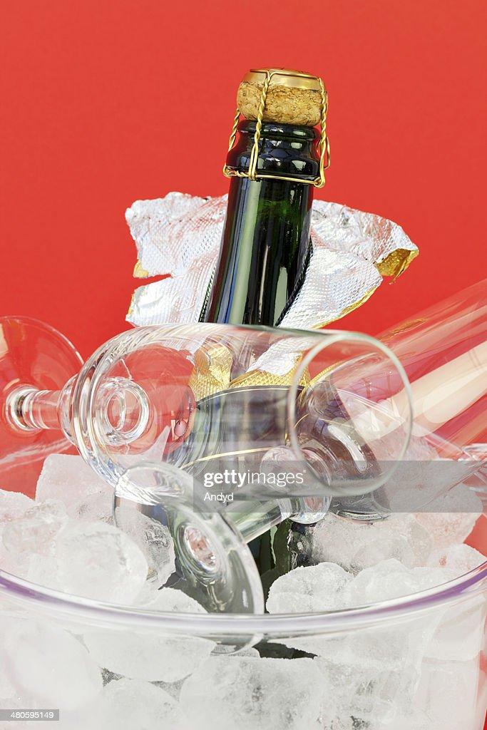 Champagne Celebration : Stock Photo