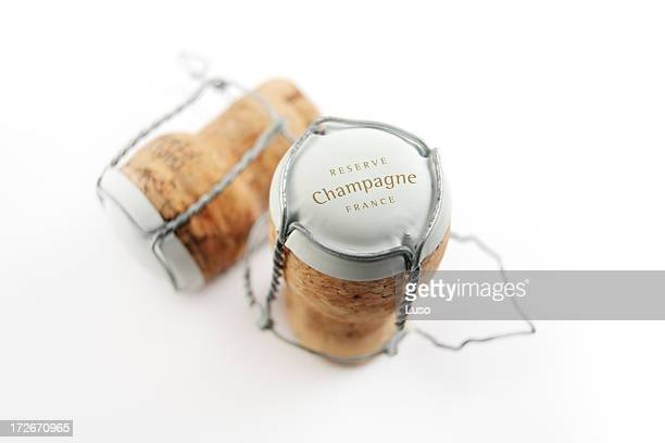 champagne cork (serie) - champagne cork stock photos and pictures