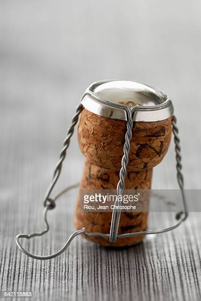 champagne cork - cork stopper stock photos and pictures