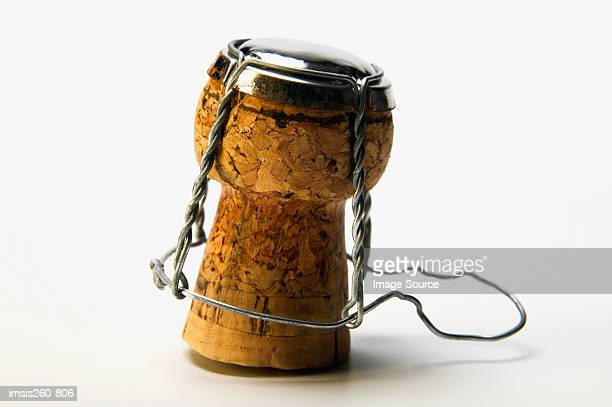 champagne cork - cork material stock photos and pictures
