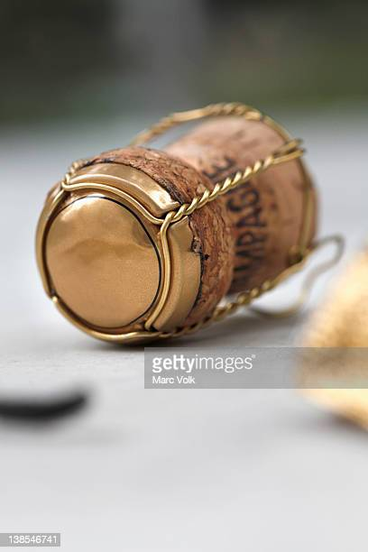 champagne cork still life - campania stock pictures, royalty-free photos & images
