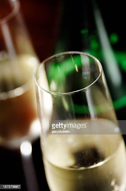 champagne en soirée