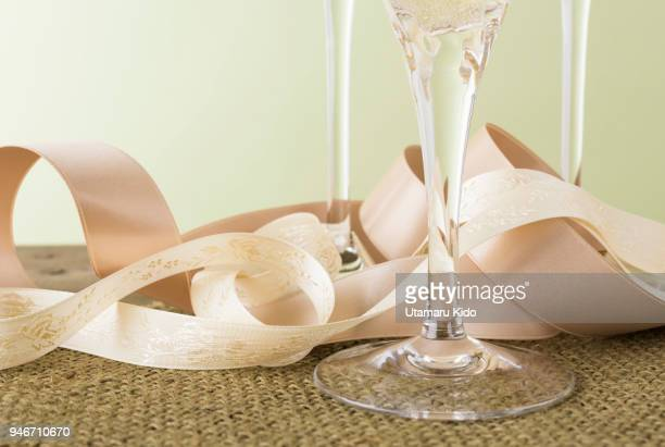 Champagne flute.