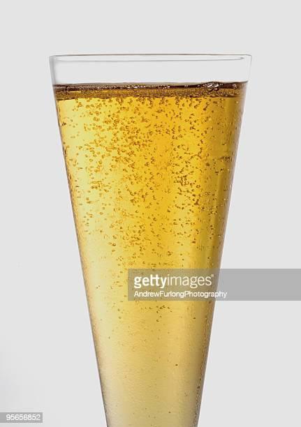 champagne glass close up