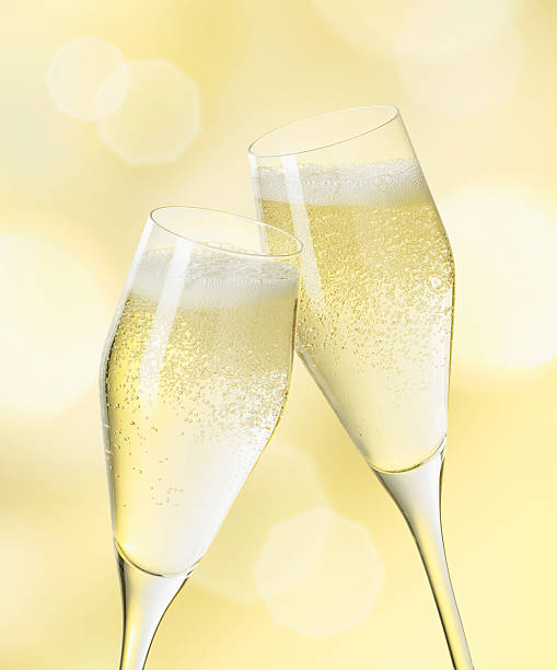 Champagne Glasses, Close Up Wall Art