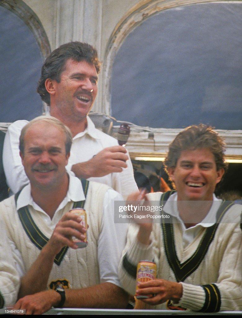 England v Australia, 6th  Test, The Oval, Aug  89 : Foto jornalística