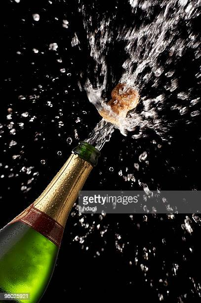 champagne - champagne cork stock photos and pictures