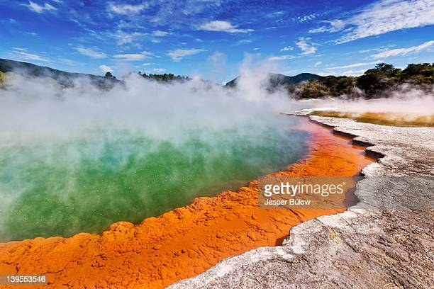 champagne pool - hot spring stock pictures, royalty-free photos & images