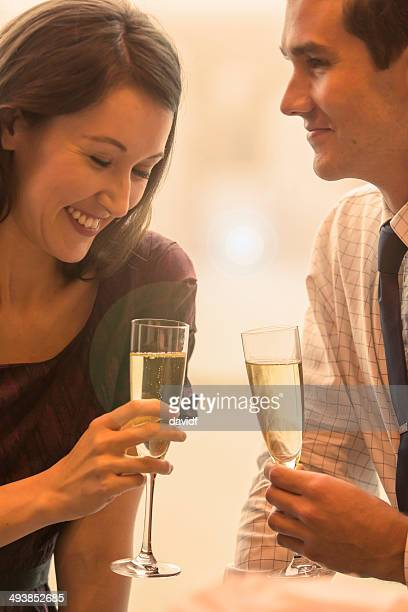Champagne Toast Couple