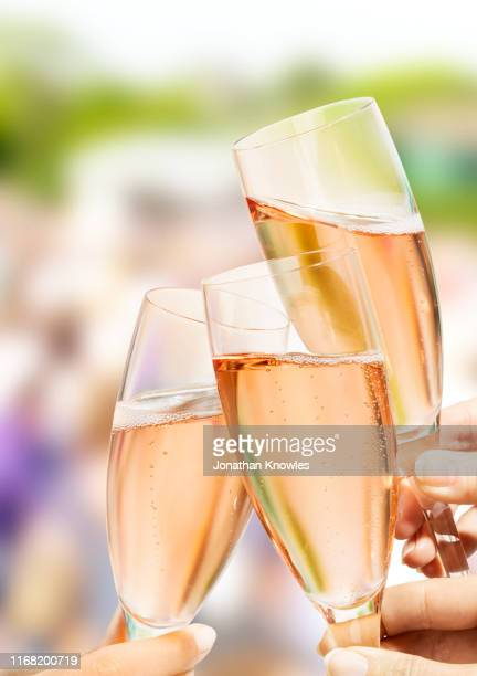 champagne toast - honour stock pictures, royalty-free photos & images