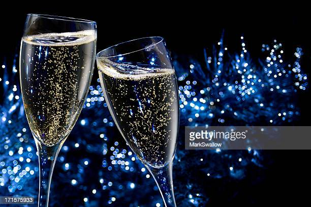 champagne toasting - champagne stock pictures, royalty-free photos & images