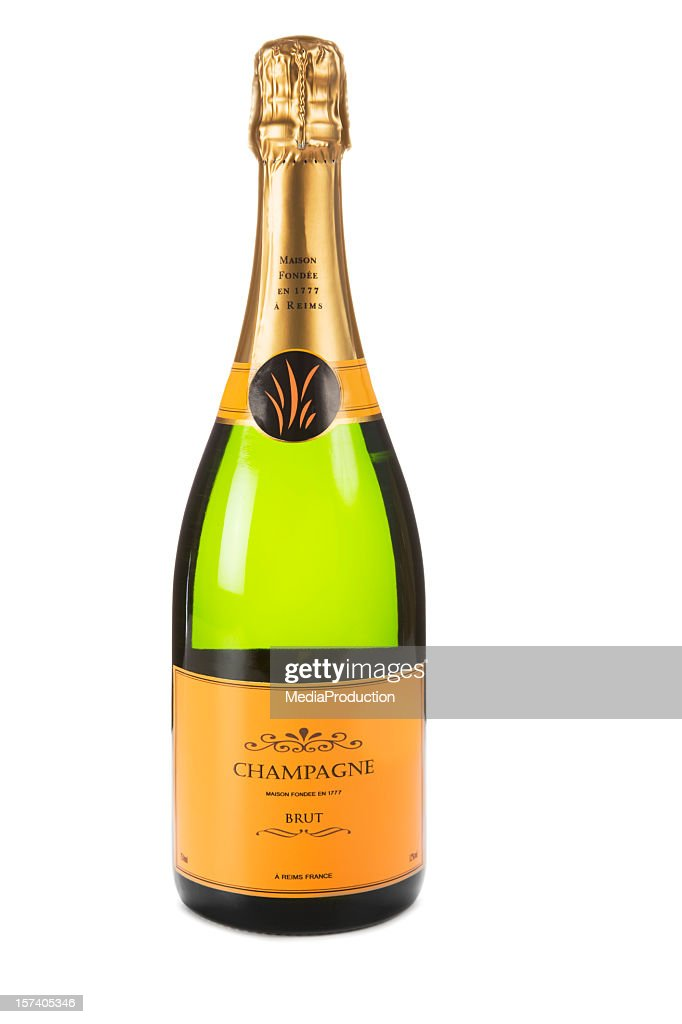 Champagne XXL : Stock Photo