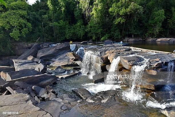 Champasak waterfall Lao