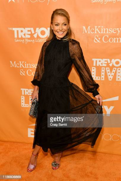 Champion Award Honorees Kelly Ripa attends TrevorLIVE NY 2019 at Cipriani Wall Street on June 17 2019 in New York City