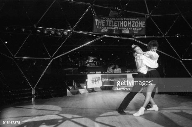 Champion Jane Mytton from Kings Norton dancing at the Dome Nightclub 20th March 1990