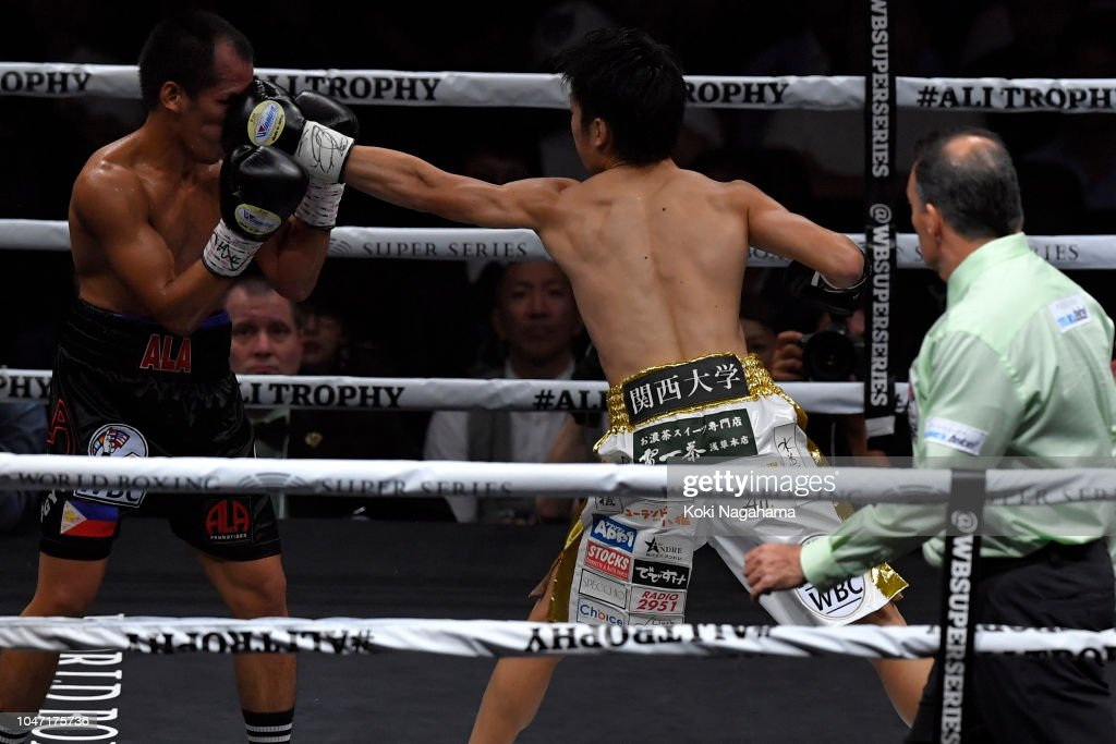 Kenshiro Teraji v Milan Melindo - WBC Light Flyweight Title Bout : News Photo
