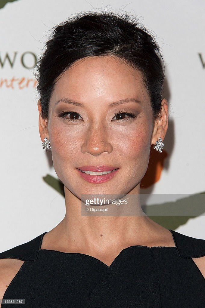 2012 'Champion of Peace' award recipient Lucy Liu attends the 2012 Women For Women International gala at Koch Theater, Lincoln Center on November 8, 2012 in New York City.