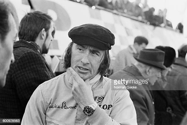 Champion racing driver Jackie Stewart UK 6th March 1970