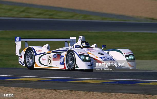 Champion Racing's Audi R8 driven by JJ Letho of South Afirca Emanuele Pirro of Italy and Stephan Johansson of Sweden during the 24 Hour Le Mans...