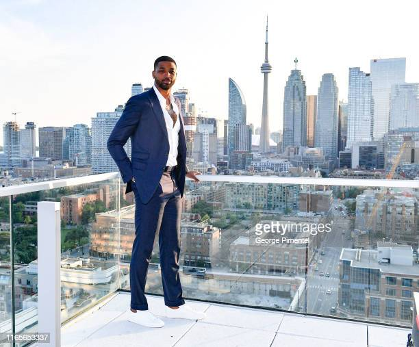 Champion Tristan Thompson attends The Amari Thompson Soiree 2019 in support of Epilepsy Toronto held at The Globe and Mail Centre on August 01, 2019...