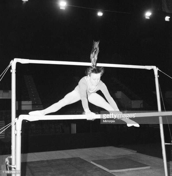 Champions All Gymnastics Tournament, presented by the British Amateur Gymnastics Association and sponsored by The Mirror, being held at the Empire...
