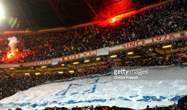 Champions League 02/03 Amsterdam Ajax Amsterdam FC Valencia 11 Fans/Ajax Amsterdam