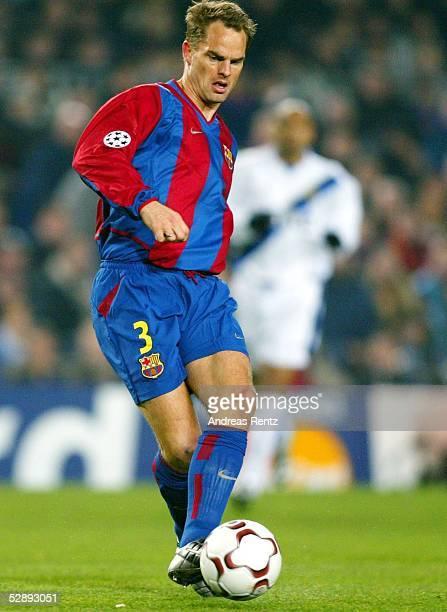 Champions League 02/03 Barcelona FC Barcelona Inter Mailand 30 Frank de BOER/Barcelona
