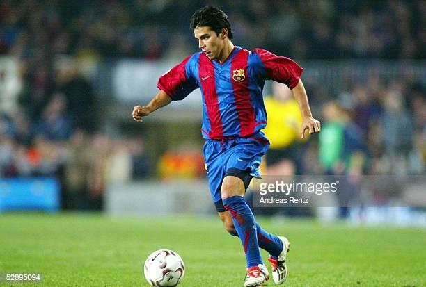 Champions League 02/03 Barcelona FC Barcelona Inter Mailand 30 Javier Pedro SAVIOLA/Barcelona
