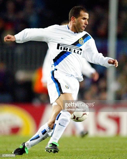 Champions League 02/03 Barcelona FC Barcelona Inter Mailand 30 Luigi di BIAGIO/Inter