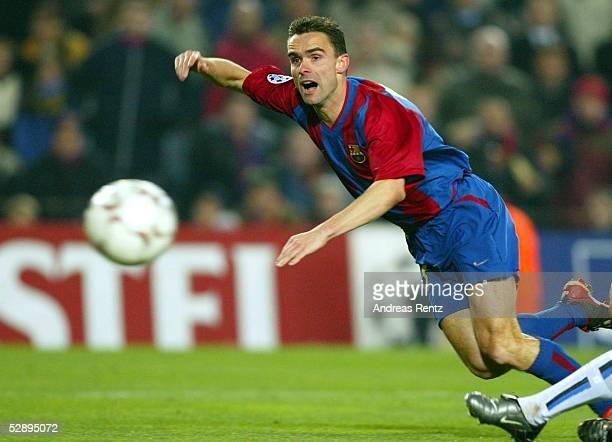 Champions League 02/03 Barcelona FC Barcelona Inter Mailand 30 Marc OVERMARS/Barcelona