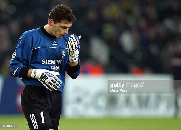 Champions League 02/03 Dortmund Borussia Dortmund Real Madrid 11 Torwart Iker CASILLAS/Madrid