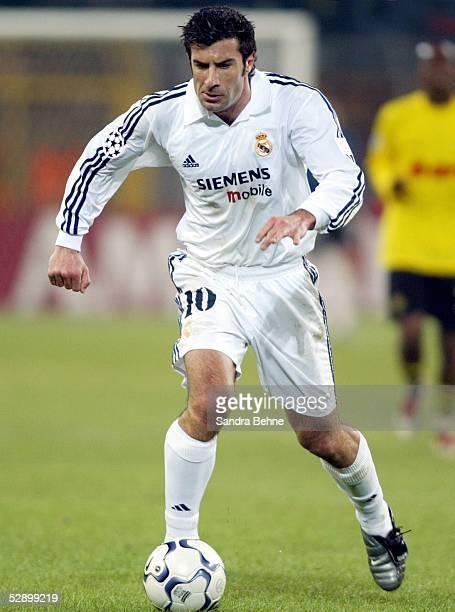 Champions League 02/03 Dortmund Borussia Dortmund Real Madrid 11 Luis FIGO/Madrid