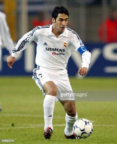 Champions League 02/03, Dortmund; Borussia Dortmund - Real Madrid 1:1; RAUL/Madrid