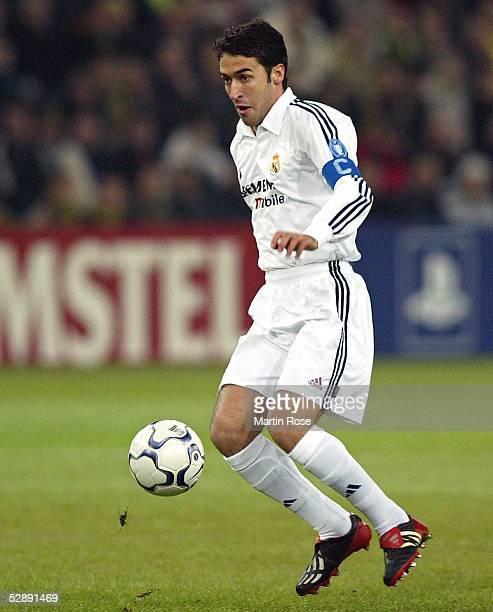 Champions League 02/03 Dortmund Borussia Dortmund Real Madrid 11 RAUL/Madrid