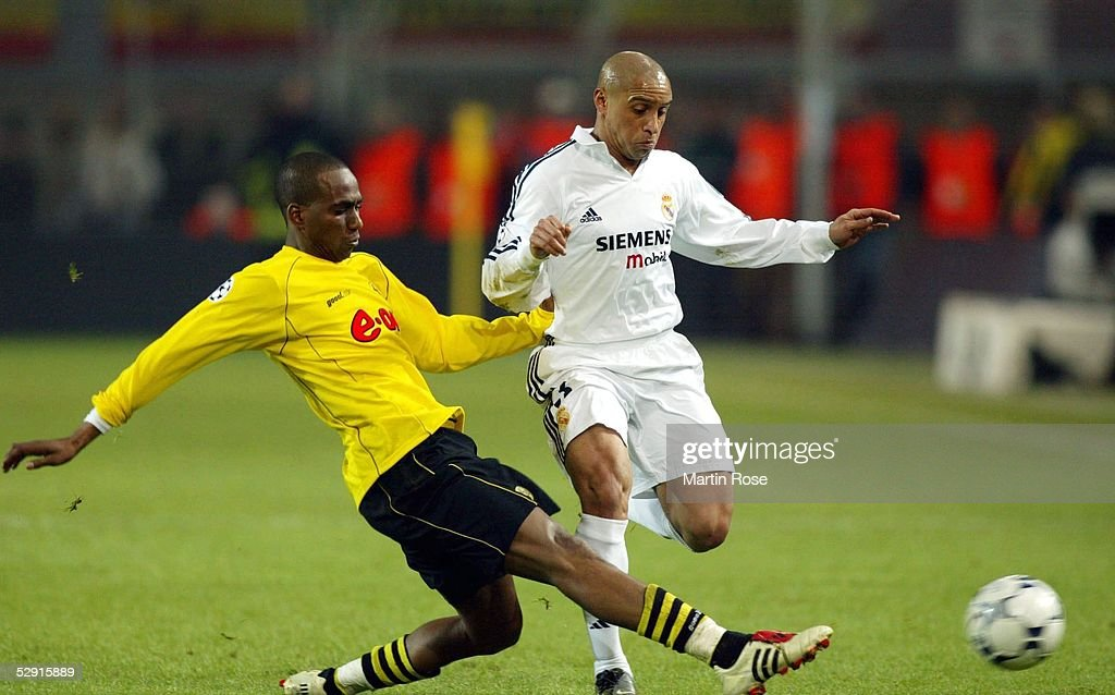 Carlos Dortmund fussball chions league 02 03 pictures getty images