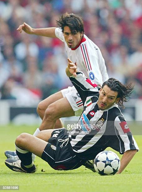 Champions League 02/03 Finale Manchester AC Mailand Juventus Turin 32 iE Gennaro GATTUSO/Mailand Gianluca ZAMBROTTA/Juventus