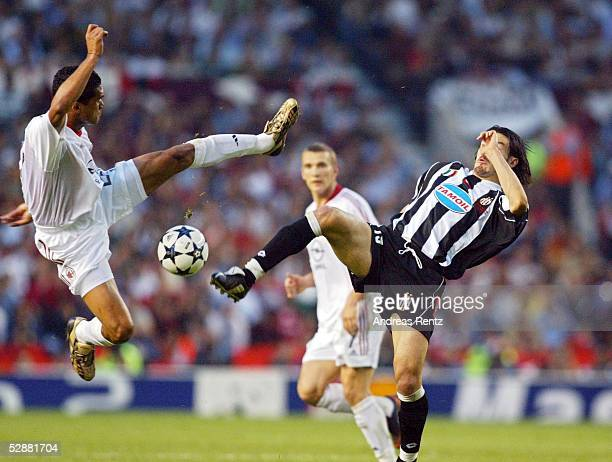 Champions League 02/03 Finale Manchester AC Mailand Juventus Turin 32 iE SERGINHO/Mailand Gianluca ZAMBROTTA/Juventus