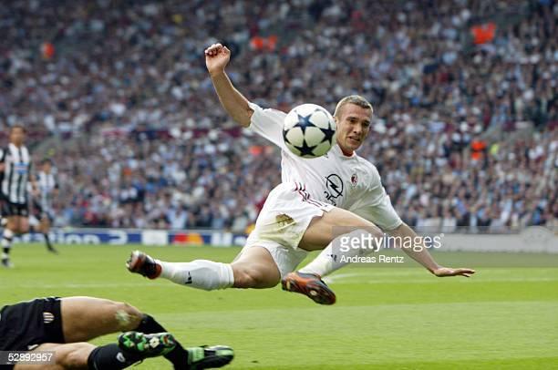 Champions League 02/03 Finale Manchester AC Mailand Juventus Turin Andrej SCHEWTSCHENKO/Mailand
